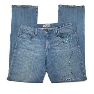 Vintage Lena Jeans, Very Ornate  Unique Design